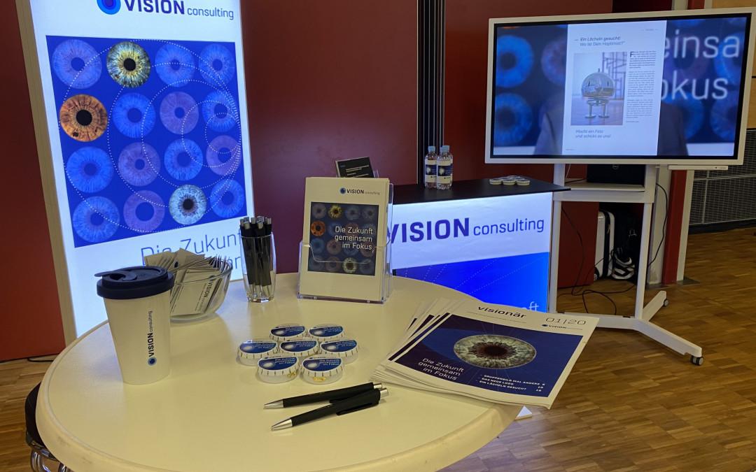 VISION Consulting auf dem IT-Jobtag von heise jobs und Jobware in Hannover